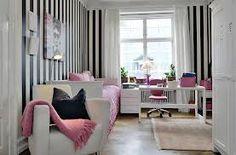 decoração quarto adolescente tema chanel
