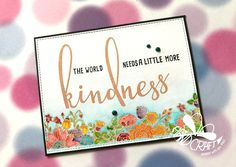 Honey Bee Stamp - Kindness and Zen Floral stamps