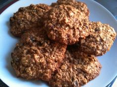 These are easy to make! and healthy for you too (small amount of butter And sugar), but still so very sweet and wholesome. The cookies are chewy and go great with any other add-ins (raisins, cranberries, chocolate chips, etc.) Courtesy of FoodNetwork.com