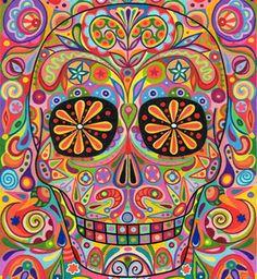 calavera de muertos: calavera (skull)