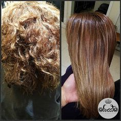 A gorgeous before & after of the FIRST shampoo by Hair Healers. We love seeing constant amazing results from this revolutionary shampoo!
