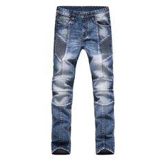 >> Click to Buy << Fashion Men Jeans New Arrival Design Slim Fit Fashion Jeans For Men Good Quality Blue Black #Affiliate