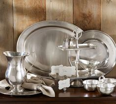 Antique Silver Charger | Pottery Barn