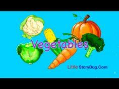 Preschool Lesson - Vegetables - LittleStoryBug