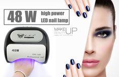 48 W Lâmpada UV Do Prego Secador Polonês LEVOU Luz Branca 10 S 20 S 30 S Secagem Unha & Unha do dedo do pé Gel Cura Nail Art Secador de Manicure em Secadores de unha de Beleza & Saúde no AliExpress.com | Alibaba Group