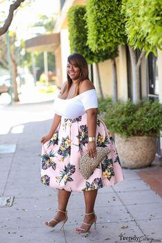 Sunday's Best | Plus Size Fashion | TrendyCurvy