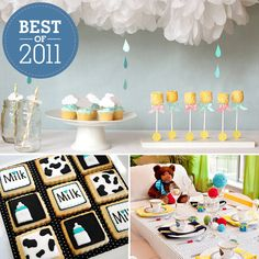 Best of 2011: The Year's Best Baby Shower Themes - www.lilsugar.com