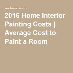 2016 home interior painting costs average cost to paint a room. Black Bedroom Furniture Sets. Home Design Ideas