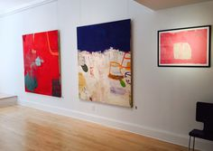 August exhibition at Mark Borghi Fine Arts in Bridgehampton, NY. August 14th to August 22nd, 2015. http://garykomarin.com/ #abstractart #abstraction #artist #paintings #galleryopening