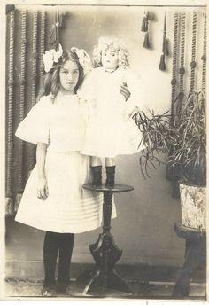 A girlandher doll