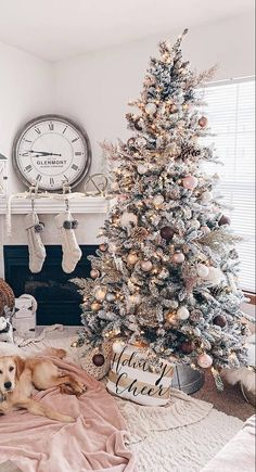Pretty Christmas Tree Alternatives for Your Small Space Gather holiday inspiration from this warm & cozy rustic farmhouse Christmas Home Tour. There are so many classic decor ideas! Christmas Tree Ideas 2018, Pretty Christmas Trees, Christmas Tree Inspiration, Alternative Christmas Tree, Christmas Home, Rustic Christmas, Flocked Christmas Trees Decorated, Homemade Christmas, Frosted Christmas Tree