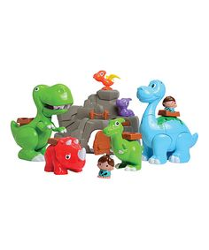 Look what I found on #zulily! Roarin' Dinos & Cave Set by Constructive Playthings #zulilyfinds