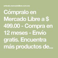 afa02084c6a Cómpralo en Mercado Libre a   499.00 - Compra en 12 meses - Envío gratis.