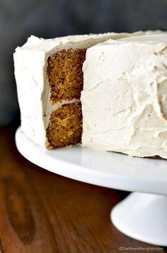 Southern Sweet Potato Cake recipe shewearsmanyhats.com