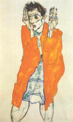 Happy Birthday, Egon Schiele! Discover original works inspired by his distinctive figurative style: http://www.saatchiart.com/art-collection/Painting-Drawing-Photography/Inspired-by-Schiele/685448/71245/view