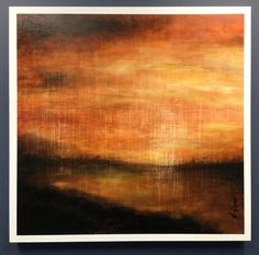 Tamise - 24 x 24 pc on wood - Abstract landscaping painting Abstract Landscape, Les Oeuvres, Landscaping, Painting, Wood, Landscape Planner, Woodwind Instrument, Painting Art, Timber Wood