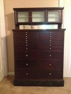 Awesome Dental Cabinet, Medical Dental, Storage Cabinets, Cupboards, Jewelry Cabinet,  Dentists, Antique Furniture, Drawers, Antiques