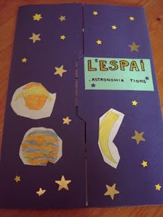 Alzar el Vuelo: PROYECTO ESPACIO:LAPBOOK First Lego League, Science Fair Projects, Pre Writing, Science For Kids, Social Science, Solar System, Literacy, Kindergarten, Preschool