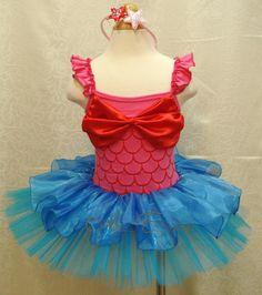 Toddler Ariel Mermaid Costume!