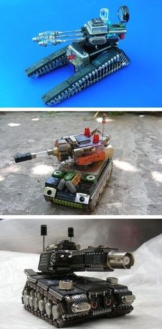 Collectibles You Can Create From Spare Electronics Component (Part-2)
