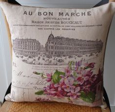 Pillow for possibly decor- navy/red/white so I could do England, France, Licthenstein, Holland, etc.
