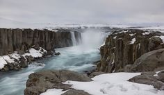 https://flic.kr/p/Po4ZFD | like a cathedral to worship Nature | Selfoss waterfall in Northeast Iceland, formed by Jokulsa a Fjollum river which creates 2 more major waterfalls within its amazing canyon entirely made of columnar basalt. This was shot in May on a day when winter had made a full return.   Get our new  Icelandic Waterfalls calendar!