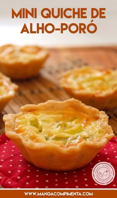 ideas for party food mini gluten free Quiches, Easy Cooking, Cooking Recipes, Healthy Recipes, Healthy Food, Mini Aperitivos, Good Food, Yummy Food, Mini Foods