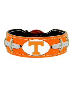 Look at this Tennessee Volunteers Football Bracelet on #zulily today!