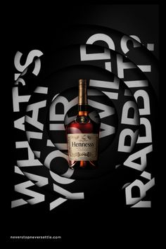 Hennessy: What's Your Wild Rabbit? on Behance