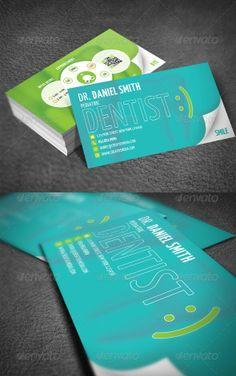 Tarjeta de presentacion design pinterest dental business dentist business card by redpencilmedia business card designed for medical business related zip file contains layered print readycmykat size inc reheart Gallery