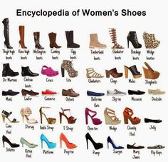 How to Chic: ENCYCLOPEDIA OF WOMEN'S SHOES
