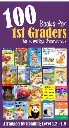 100 Books for First Graders to Read Themselves (by reading level) | 123 Homeschool 4 Me
