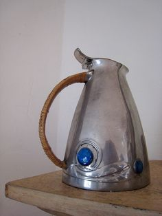 Archibald Knox: Pewter Jug from his 'Tudric' range for Liberty.
