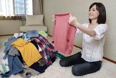 Konmari Method, Organization, Storage, Clothes, Getting Organized, Purse Storage, Outfits, Organisation, Clothing