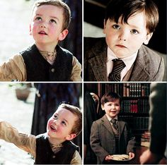Wee Jamie and wee Roger--such cuties.