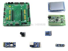 (100.99$)  Watch now  - STM32 Board STM32F4DISCOVERY STM32F407VGT6 STM32F407 ARM Cortex-M4 STM32 Development Board +7 Modules Kit = Open407V-D Package A
