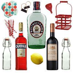 Batched & Bottled Negroni Cocktail Kit | Crafted Taste Cocktails