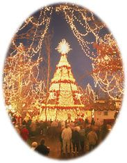Branson at Christmas. Where we spend our off years, that's not to far to drive and is a Beautiful, relaxing place to be.