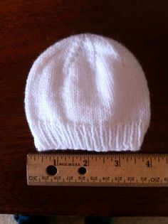 premie baby hats My sister makes me the best hats for my angels. Darling, soft, perfectly knitted, and STRETCHY. Stretchy is the key, folks. It's super i. Baby Hat Knitting Patterns Free, Baby Hat Patterns, Baby Hats Knitting, Knitted Hats, Free Pattern, Easy Knitting, Bonnet Crochet, Knit Or Crochet, Crochet Baby
