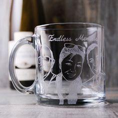 350cc【Family家庭杯】(寫實版) 3人肖像馬克杯 耐熱杯-GA1623