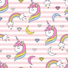 Unicon patrón sin costuras Vector Premiu...   Premium Vector #Freepik #vector #fondo #patron #fondo-abstracto #cartel Neon Wallpaper, Kids Logo, Vector Free, Illustration, Pattern, Unicorn, Art, Happy Woman Day, Abstract