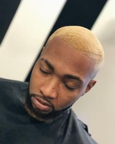 Men's Hairstyles - Latest Hairstyles and Haircuts for Men in 2018 Black Boys Haircuts, Short Blonde Haircuts, Black Men Hairstyles, Boy Hairstyles, Cool Haircuts, Haircuts For Men, Braided Hairstyles, Afro Blonde, Men Blonde Hair