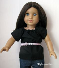 Karen Mom of Three's Craft Blog: You're right. . . this isn't exactly DIY.  It's better!  If you are looking for a belt for your doll, this idea is genius!!