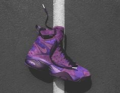 ... Pippen 1 Black Pony. It's Coming, Nike Air, Pony. A Detailed Look At  The KITH x Nike Maestro II High Purple