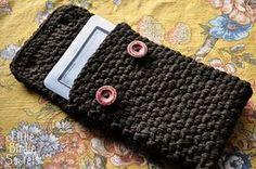 nook or kindle case--can be scaled down for ipod touch also... I made it larger for an iPad. Simply cast on 35 stitches for the correct size.