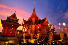 The Royal Funeral Pyre by Photos of Thailand, via 500px