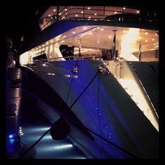 #night #sea #cannes #yacht #france - @misscrochet- #webstagram