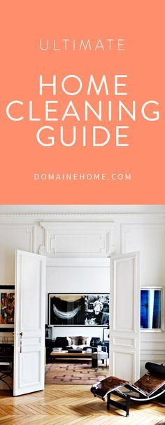 The best tricks and tips for cleaning every room in your home, plus all-natural…