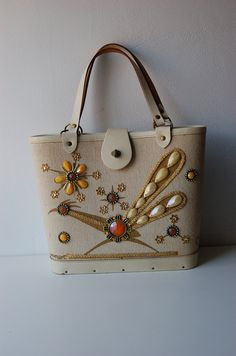 Enid Collins (Collins of Texas) road runner hand bag