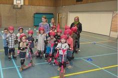 Kindcentrum de Leydraad | een skateclinic voor de kinderen met aandacht voor veiligheid in het verkeer én veiligheid voor jezelf